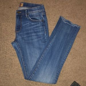 Audrey Driftwood Skinny Jeans 27